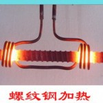 Double screw steel high-frequency heating