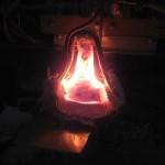 高频熔炼炉熔炼金属