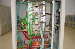 高频炉构造