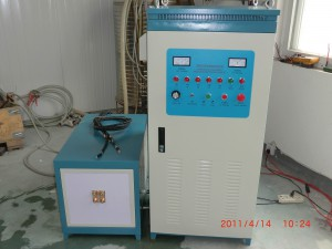 Model WH-VI-50 high frequency furnace