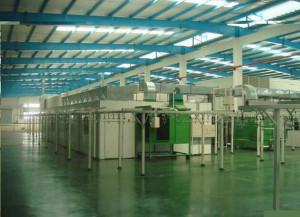 中频电炉管道防腐涂装生产线工艺 1
