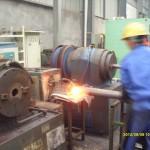 螺旋地桩缩管加热设备–高频炉新用途