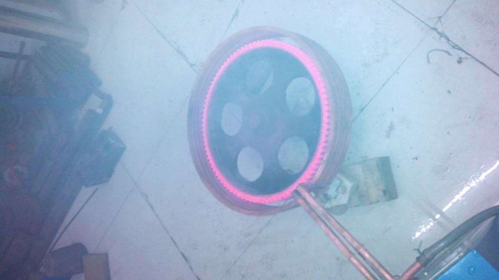 超音频齿轮淬火
